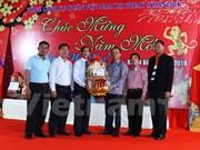 Compatriotas vietnamitas celebran Tet en distintos países