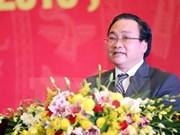 Vicepremier Hoang Trung Hai, nuevo secretario del comité partidista de Hanoi