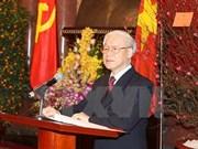 Asignan cargos a miembros del Buró Político
