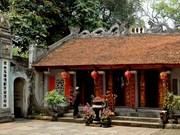 Templo de Voi Phuc atrae a visitantes por su historia