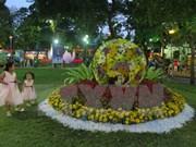 Clausurado festival de flores en Ciudad Ho Chi Minh