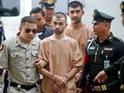 Atentado de Bangkok: Dos sospechosos negaron acusaciones