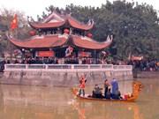 Miles de turistas participan en festival tradicional de la provincia de Bac Ninh
