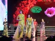 Presentarán nuevos diseños de Ao Dai en Ha Noi
