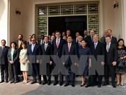 Estimulan respaldo de diplomáticos a desarrollo de Ciudad Ho Chi Minh