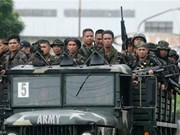 Ejército filipino abate a más de 40 terroristas en el Sur del país
