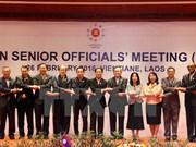 En Laos Reunión de altos funcionarios de ASEAN