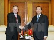 Vietnam con deseo de recibir apoyo de partido alemán en asuntos internacionales