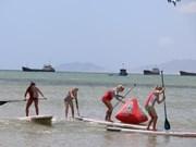 Cierran en Vietnam primera ronda de torneo asiático de kitesurf
