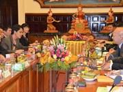 Vietnam y Camboya firman programa de cooperación judicial en 2016