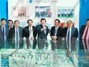 Presidente realiza visita de trabajo a Hai Phong
