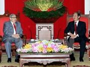 Partidos comunistas de Vietnam y Francia forjan cooperación