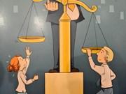 Entregan premios del concurso de caricatura sobre igualdad de género
