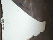 Restos de avión encontrado en Mozambique serán enviados a Australia