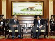 Ciudad Ho Chi Minh llama a inversiones británicas en infraestructura de tránsito