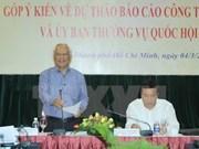 Analizan en Vietnam labores del Parlamento de XIII legislatura