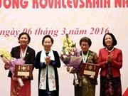 Organiza Vietnam acto conmemorativo a aniversario 30 de Premio Kovalevskaika