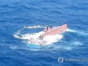 Siguen buscando a seis marinos vietnamitas desparecidos en Sudcorea