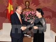 Intensifican cooperación parlamentaria Vietnam-Japón