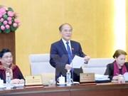 Clausuran reunión 46 del Comité Permanente del parlamento vietnamita