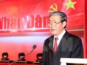 Periódico Nhan Dan honrado con Orden de Independencia