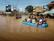 Inundaciones dejan dos muertos y tres desaparecidos en Indonesia