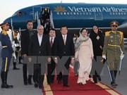 Presidente vietnamita inicia visita a Irán