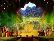 Inauguran en Dien Bien fiesta de Flor de Bauhinia
