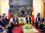 Vietnam y Rusia profundizan cooperación en seguridad
