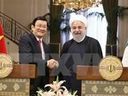 Nuevo impulso para las relaciones entre Vietnam y Tanzania, Mozambique, Irán