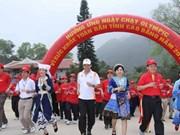 Carrera del Día Olímpico se corre en la isla vietnamita de Ly Son