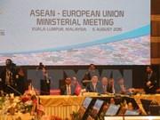 UE apoyará con 50 millones de euros para la integración de la ASEAN