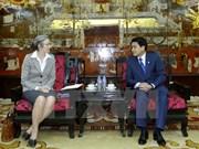 Ámsterdam desea promover lazos con Hanoi en gestión de recursos hídricos