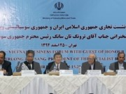 Vietnam e Irán ante nuevas oportunidades de cooperación económica