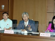 Diputados vietnamitas evalúan situación socioeconómica