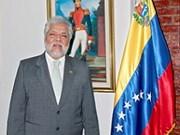 Embajador venezolano aboga por el desarrollo de relaciones con Vietnam