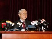 Líder del PCV pide mayor desempeño del sector de construcción partidista