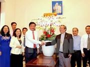 Autoridad de Ho Chi Minh felicita a fieles católicos en ocasión de la Pascua