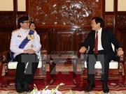 Presidente vietnamita recibe a nuevos embajadores