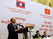 Proponen agilizar estudio de políticas favorables para inversión vietnamita en Laos