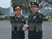 Conversan ministros vietnamita y china de Defensa