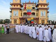 Religión Cao Dai recauda dos millones de dólares para actividades caritativas
