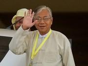 Nuevo presidente de Myanmar compromete por la paz y reconciliación