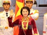 [Galería] Primera presidenta del parlamento jura en acto de asunción de cargo