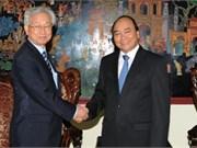 Viceprimer ministro vietnamita recibe a embajador sudcoreano
