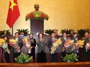 Parlamento vietnamita elige a titulares de sus comisiones