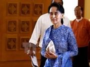 Aung San Suu Kyi: Myanmar iniciará un cambio a partir del año nuevo tradicional