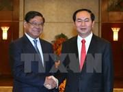 Presidente vietnamita recibe a vicepremier camboyano