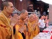 Seguidores del budismo rinden homenaje a mártires en Cao Bang