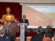 Conmemoran en Francia aniversario 41 de la reunificación de Vietnam